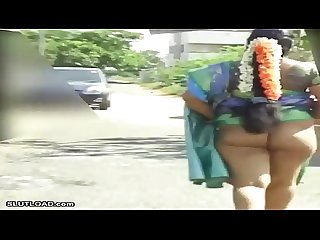 Indian lady nude ass walk in public