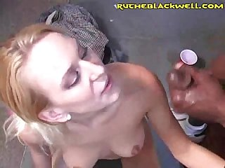 White girls share black cum