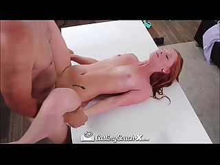 Hd castingcouch x young Redhead wants to be fucked on camera