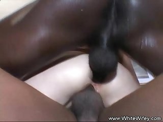 Dp anal bbc threesome tiny blonde