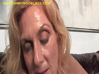 Black Dude Plows Blonde Mom