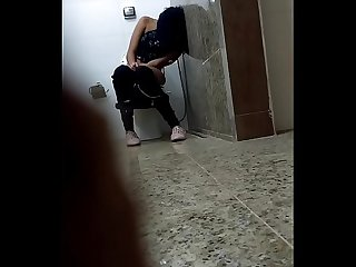 Drunk girl spied in toilet