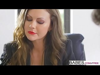 Babes office obsession lpar tina kay rpar lay down the law