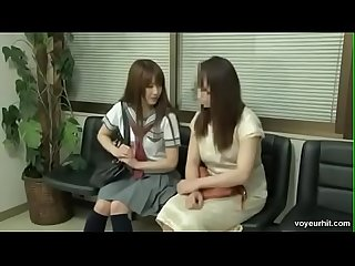 Japanese school girl with doctor More video go to lavyta,com