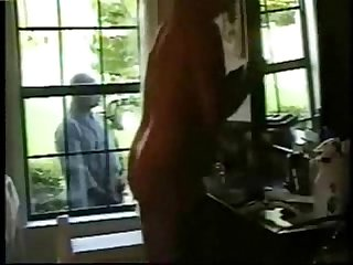 Hidden cam at home period family voyeur