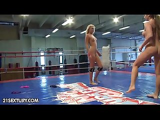 Nude fight club presents ivana sugar vs cathy