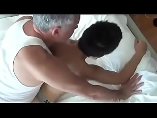 Asian boy fucked by two daddys