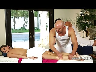 Secret movie of one very lucky masseur