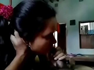 Desi cute Indian girlfriend sucking lovers cock and fucking lpar New rpar