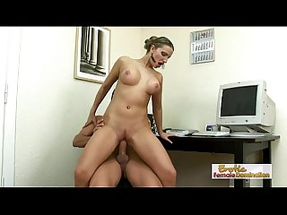 Hot and naughty fuck afternoon with slutty secretary