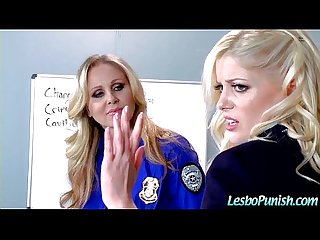 Lesbo girls alison charlotte Julia in hard punish sex games movie 07