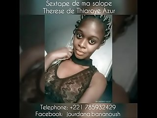 Shy African teen student from senegal thiaroye therese tel 221 785932429