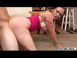 Damn Hot latina chick carmen ross gets her pussy rammed hard