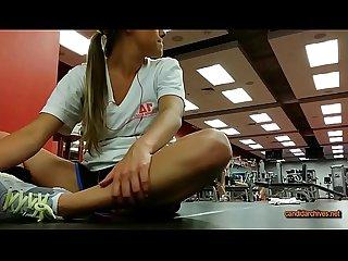 Espiando en el gimnasio culo empinado candidarchives period net