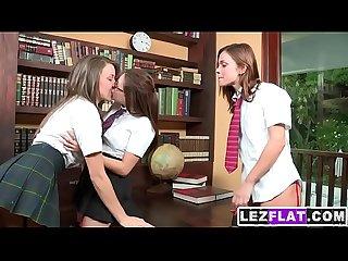 Alyssa reece in Hot Lesbian Threesome