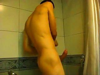 animado no Banho