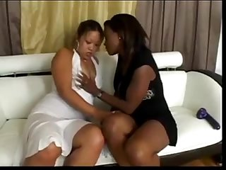 asian and black lesbians licking each other from AsiansAffairs .com