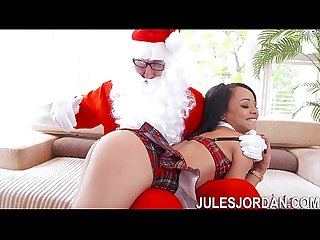 Holly Hendrix Ho Ho Ho� Santa Gave Me Anal For Christmas!