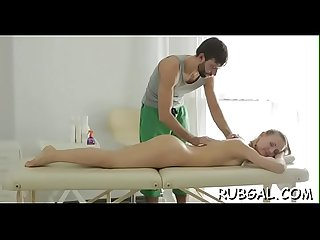 The massage room