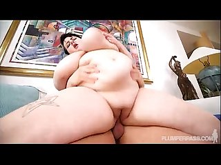Sexy Teen BBW Peyton Thomas Swings on Tarzans Huge Cock
