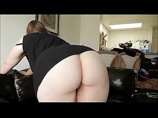 Sexy pale bbw assfucked by a big black cock