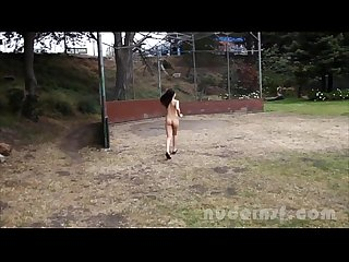 Nude in san francisco Sasha yung jogs around a park naked in public