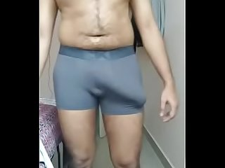 Indian boy with huge bulge