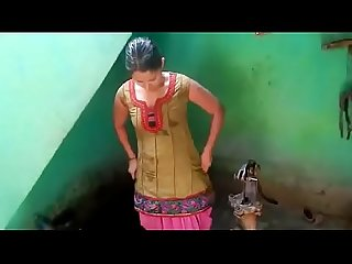 Desi bhabhi nude bath captured by devar