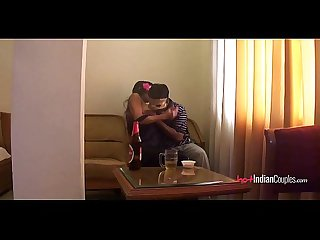 Young indian couple fucking with full passion