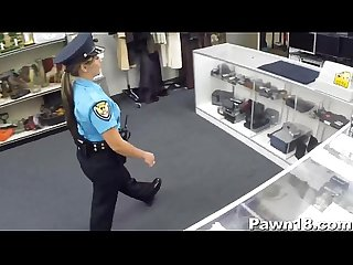 Police Officer Comes into Pawn Shop