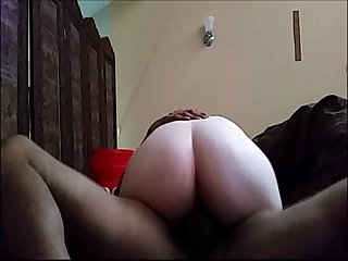 My friends ex Girlfriend Interracial homemade Fucking creampie