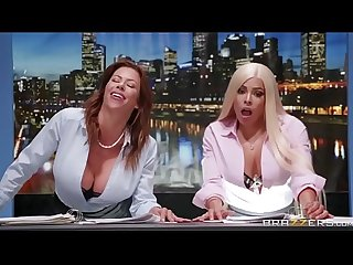 News Ancwhores - Alexis Fawx & Luna Star - FULL SCENE on..