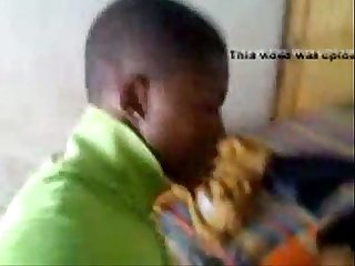 Jamaican teen getting fuck in living room
