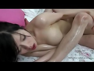 Korean fuck with massage oil