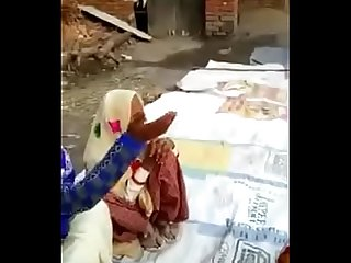 Indian village dirty vouge during marriage ceremony