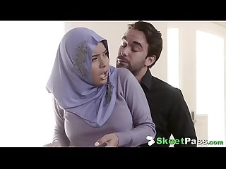 Shy Busty Arab Teen Aaliyah Hadid Ass-Fucked In Her Hijab