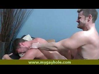 Hot men bareback sex video 2