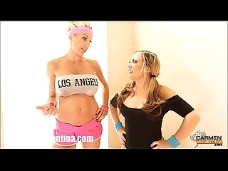 Carmen valentina puma swede s slutty work out