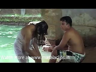 Tamil aunty outdoor bath and enjoyed by young guy video