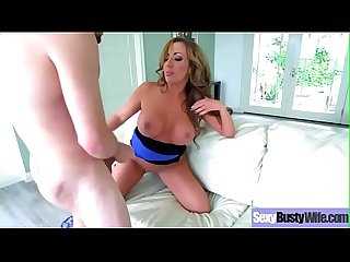 Busty Lovely Housewife (Richelle Ryan) In Hardcore Sex Act video-24