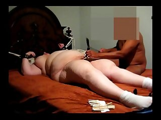 Fat Slut Begs Me to Stop She Can't Stop Cumming