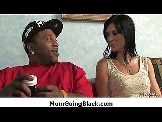 Black monster fucks my moms tight pussy 24