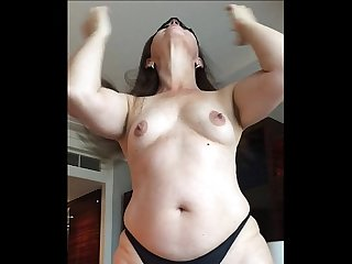My curvy brazilian wife is my sex slave 01