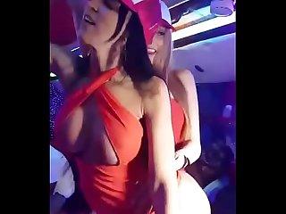 Venezolanas muy coquetas bailando el Criminal de OZUNA