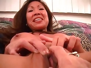 An asian milf and her craving to fuck
