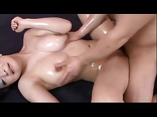 Asian olied and fucked hard more at www imlivex com