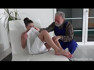 Old N young com anita bellini old man cums into a fresh mouth