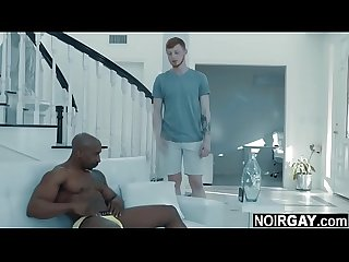 White gay helps his black straight friend make a sexy video - bbc interracial gay sex