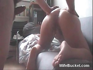 Canadian couple homemade sex tape