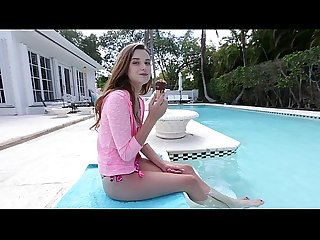 BANGBROS - Barely Legal Petite Cutie Drilled By The Pool